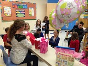 Mrs. Ford's Surprise Baby Shower