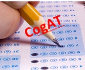 CoGAT Testing for Grades 1, 2 and 5