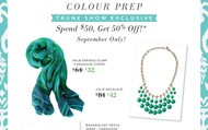 September Trunk Show EXCLUSIVES for your Guests!