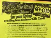 Texas Roadhouse Gift Card Sale