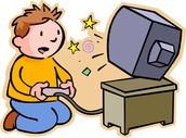 Je joue aux jeux vidéo