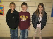 3rd Grade Students of the Month