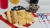 FREE - Hot Dogs, Chips, and Drinks!