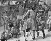 Slaves Killing Crew Members