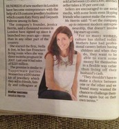 Did you see the Evening Standard last week?