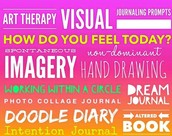 "Three-Day ""Visual Journaling in Expressive Arts Therapy and Counseling"" Denver CO, June 22, 23, & 24, 2016, Lowry Conference Center"