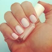 light pink essie