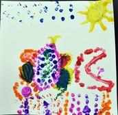 Raadiya's Pointillism Butterfly