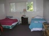 Un dormitorio típico