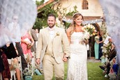 An United States wedding