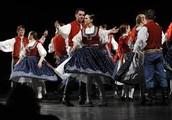 Czech folk dancing