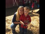 Mrs.Crosby with her son Cooper!