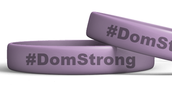 #DomStrong Wristbands