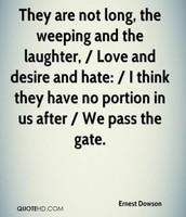 Famous poem by Ernest Dowson