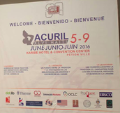 ACURIL 2016 HAITI WAS DEDICATED TO PAST ACURIL PRESIDENTS IN HAITI