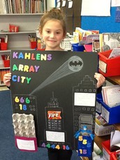 Everyday Arrays! Second Grade Projects & Video