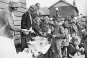 Soup kitchens and bread lines were very common during the Great Depression.