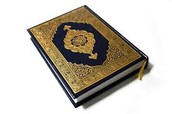 A picture of a Qu'ran