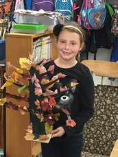 Tree Project in Mrs. Heuer's Third Grade