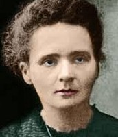 Marie Curie painting