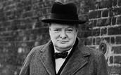 A picture of Winston Churchill