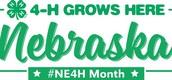 Nebraska 4-H Month - 4-H Grows Here