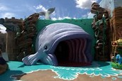 Let your children go to Smile of a child where they can be in the belly of the whale just like Jonah was!