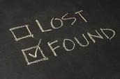NO Lost & Found!!!