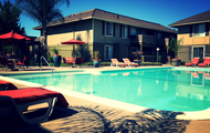 Sparkling pool!