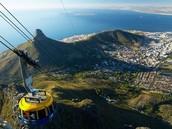 Table Mountain Visto de cima