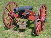The Cannon was a highly effective weapon throughout the Revolutionary War and was a key to the American Victory.
