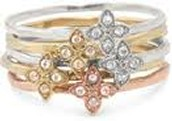 Moraley Flower Stack Rings Size 5 - Sale Price $8, Retail $39