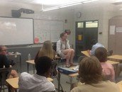 Alumn, Kaylyn Wiese, talking about her Chinese courses at BC.