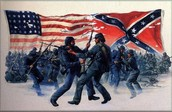 Union against Confederate