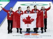 Canada won gold medal for men's curling and Canada won sliver for women's curling.