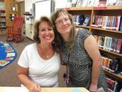 Mrs Lobermeier (right) & Ms. Pritzl (left)