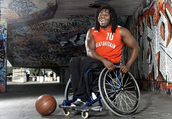 Basketball gold medalist with polio