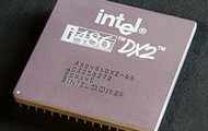 """An Intel 486 DX"""" from the 1990's"""