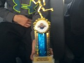 My first track meet win!