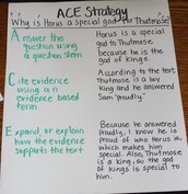 ACE - Three Column Anchor Chart