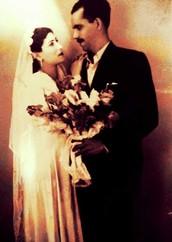 סבתא סעידה בחתונתה