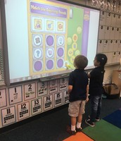 TK's working on their beginning sounds.