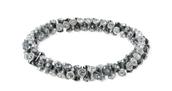 Vintage Twist bracelet, silver, S/M