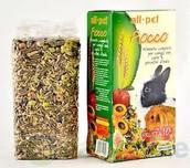 mangime conigli e roditori
