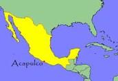 Acapulco's Location.