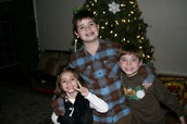Me with my little siblings