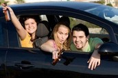 How does drink driving affect young drivers