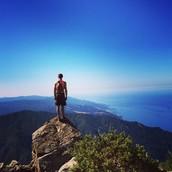 Hiking in beautiful Big Sur