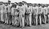 Inmates of the concentration camp