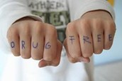 WE ARE DRUG FREE